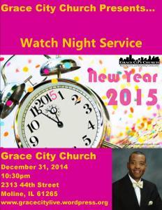 Watch Night Service 2015