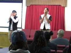 "REFL3X dancers Juan and Curtis dancing to ""Father, I Trust You"" (Prayer Changes Things!)"