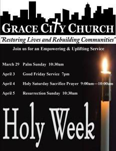 Grace City Holy Week