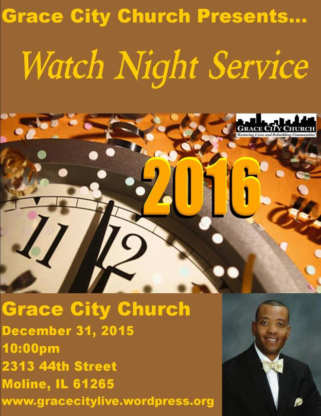 Watch Night Service 2016-2-2