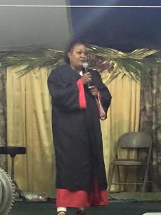 Sis. Susan ministering through the arts.