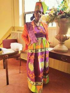Aunt Alma Sewing Class outfit pic
