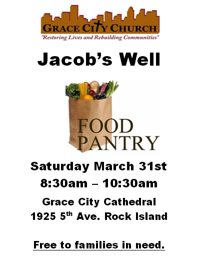 March Food Pantry