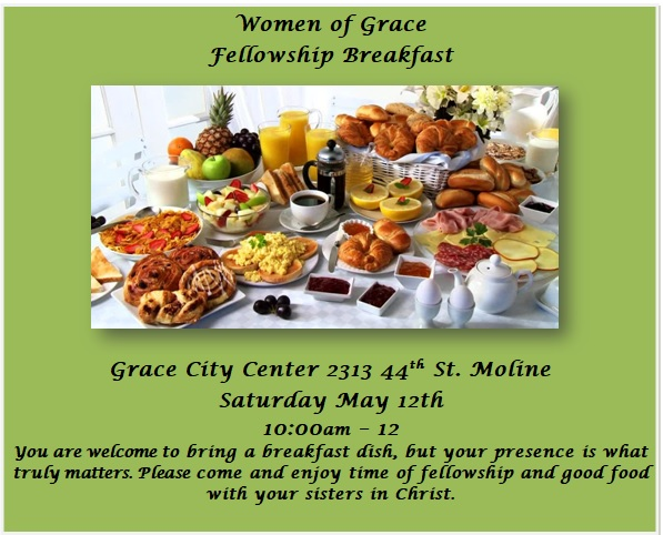 May Women of Grace Fellowship Breakfast