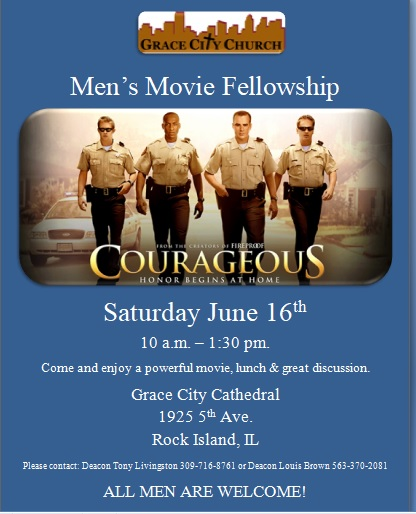 Men Movie Fellowship Flyer