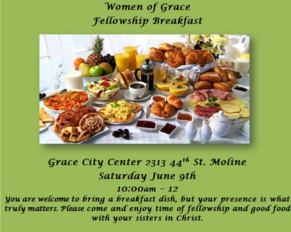 Women's Ministry Breakfast - JUNE