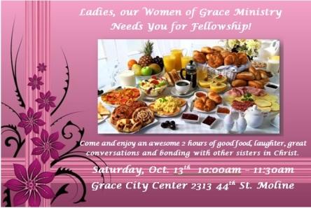 October - Women of Grace